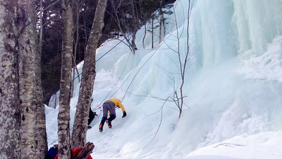 Ice Climbing Kinsman Notch-30
