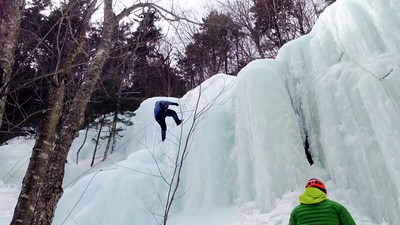 Ice Climbing Kinsman Notch-32