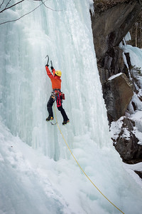 Ice Climbing Kinsman Notch-12