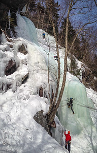 Ice Climbing Kinsman Notch-26