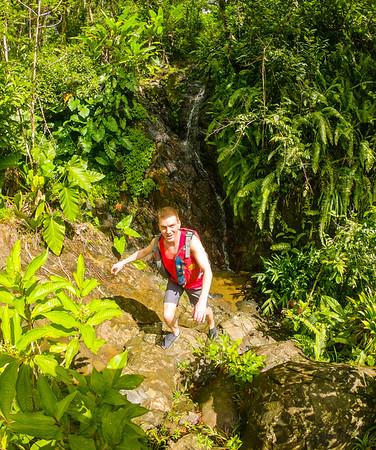 Jake taking on the jungle hahah
