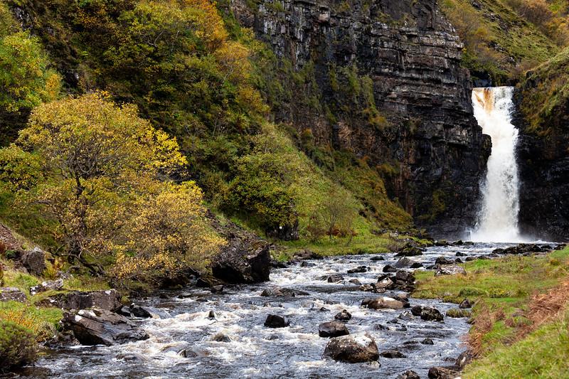 Lealt River Waterfall