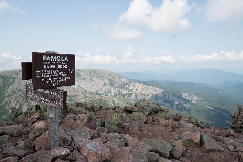 Pamola summit!