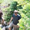 Ed & Fletcher heading up Katahdin