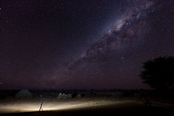 Milky Way over Urikaruus Waterhole