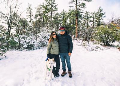 Laguna Mtn Snow Trip
