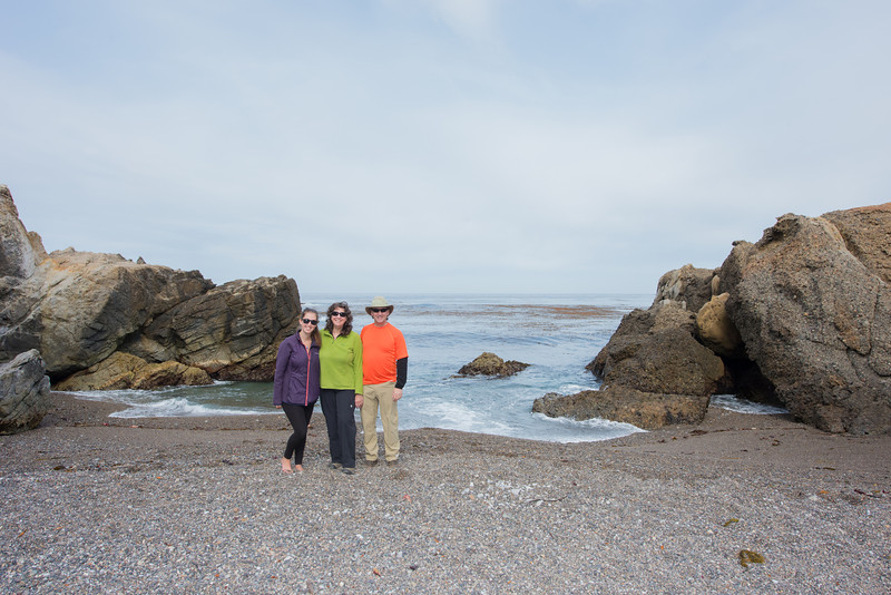 Hiking around Point Lobos during a weekend in Carmel-by-the-Sea