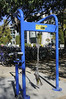 Bike repair station at UC Davis
