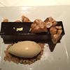 Chocolate bar dessert at Farallon