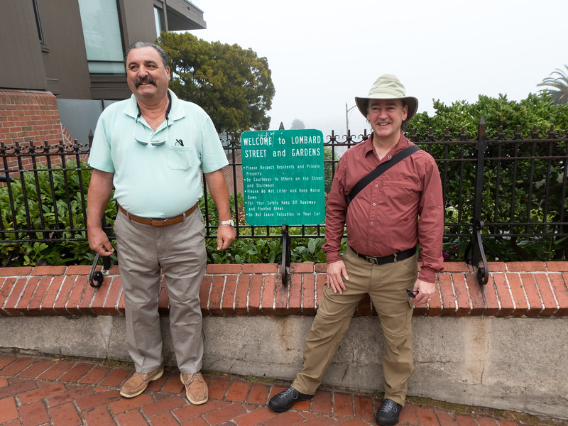 Being a tourist in San Francisco with my uncle.