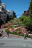 A view up Lombard Street