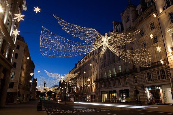 Regent Street St James's Christmas Lights