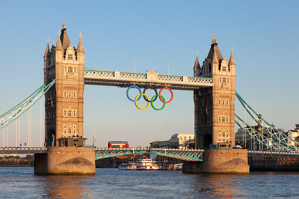 Tower Bridge during London 2012