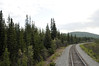 Train ride from Fairbanks to Anchorage, with short stops in Denali, Talketna, and Wasilla.