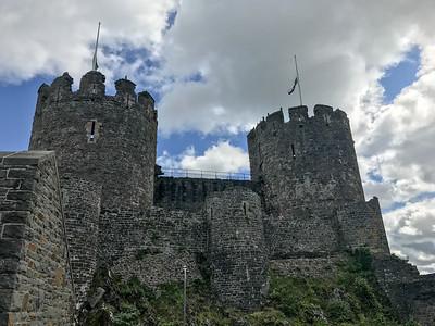 Conwy Castle, 2017
