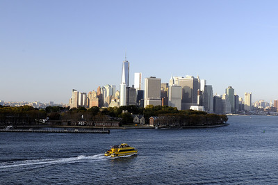 Beginning of cruise in New York City.