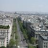 Walking around Paris one day.
