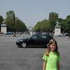 Walking the Champs-Elysées