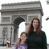 Meeting Teresa at the Arc De Triomphe