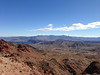 View of Boulder City and Lake Mead from the platform of the 3rd flight.