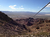 Looking between the cables towards Boulder City