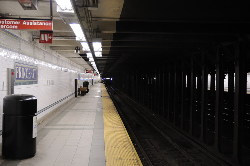 Prince Street subway station