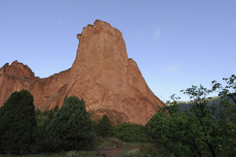 One morning in the Garden of the Gods