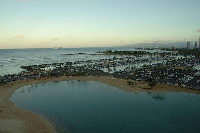 Hilton's lagoon