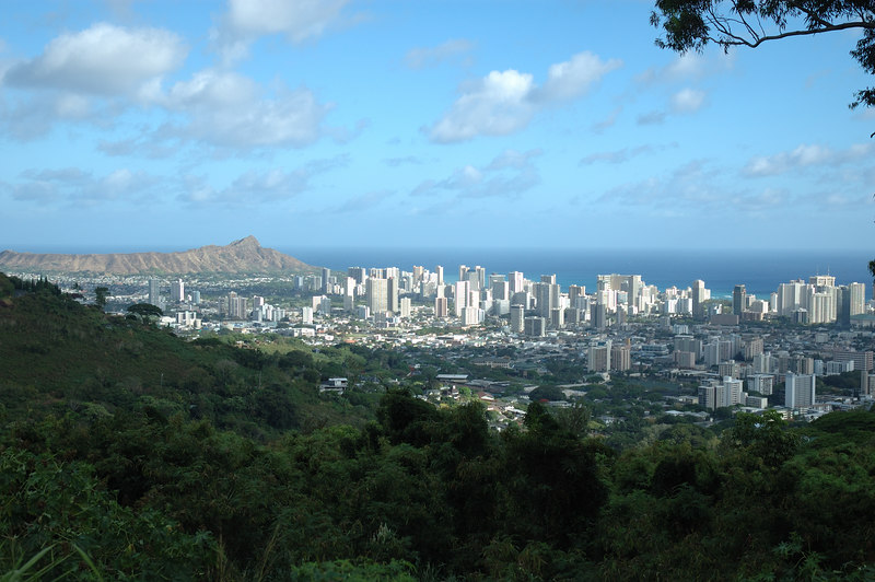 A visit to the island of Oahu in July, 2006.
