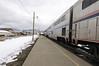 Fresh air break for passengers in Fraser, Colorado