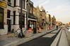 H Street under construction