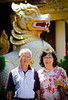 Junkii's parents at Burmese Temple in Penange