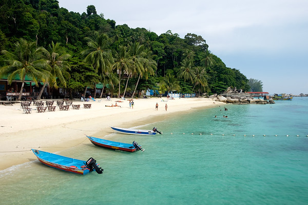 Perhentian taxi boats