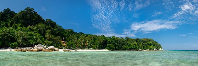 Lang Tengah from the sea