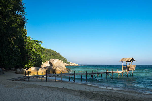 D'Coconut Lagoon jetty