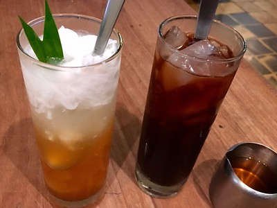 Discovering new drinks in Jogja
