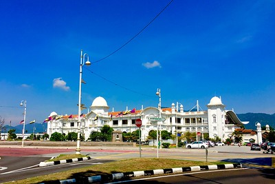 Ipoh's Iconic Railway Train Station