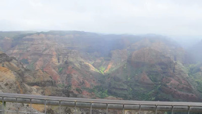 Waimea Canyon, Kaua'i, Hawaii.