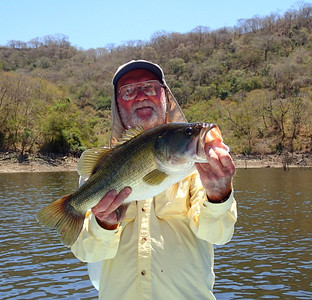 David with a nice bass from Picachos