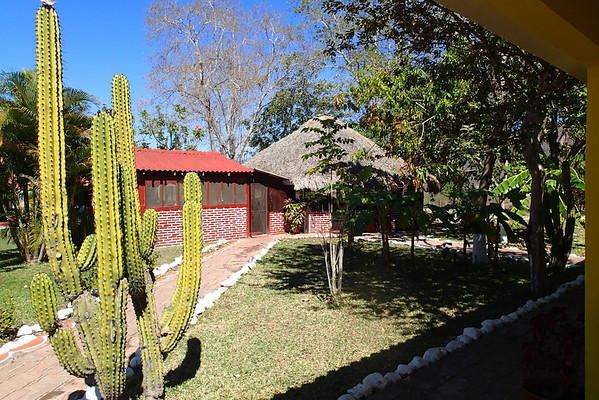 Lodge at El Salto - that 's the kitchen and dining pavilion.