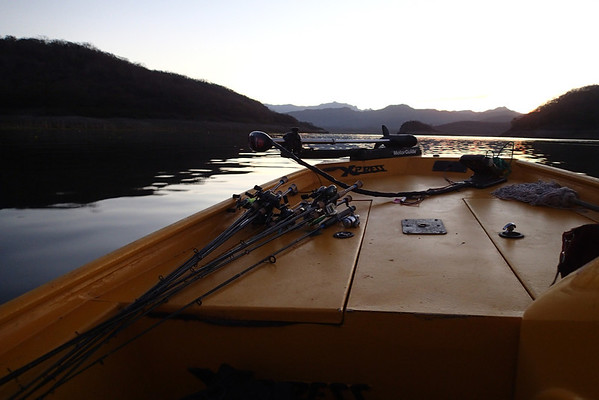 Early morning on Salto - heading out.