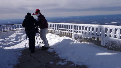 Mt Washington by Snow Cat in Winter-36
