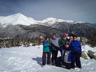 Mt Washington by Snow Cat in Winter-08