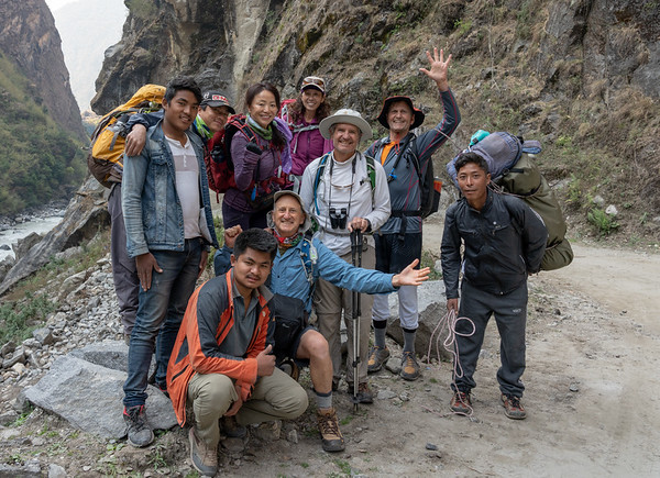 Trekkers and Support Team