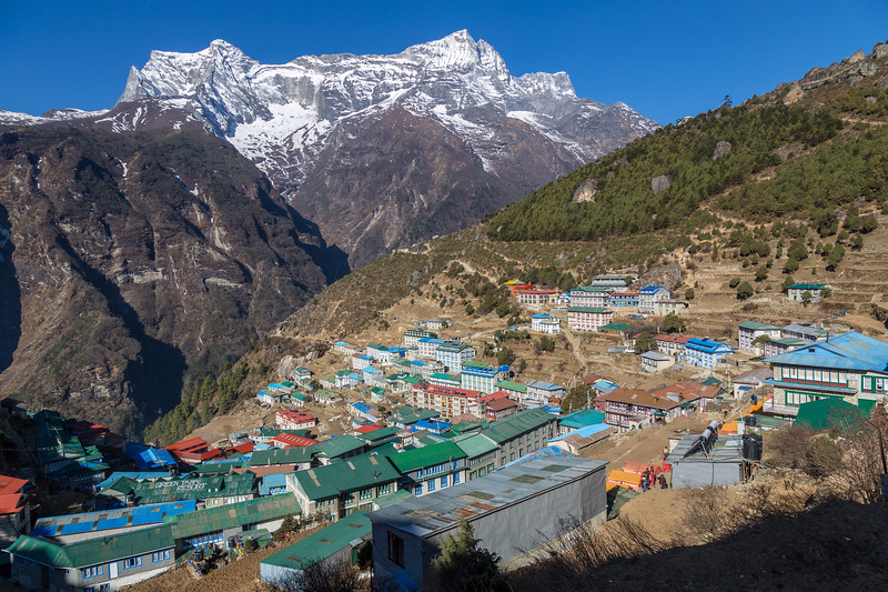 Namche in the Morning