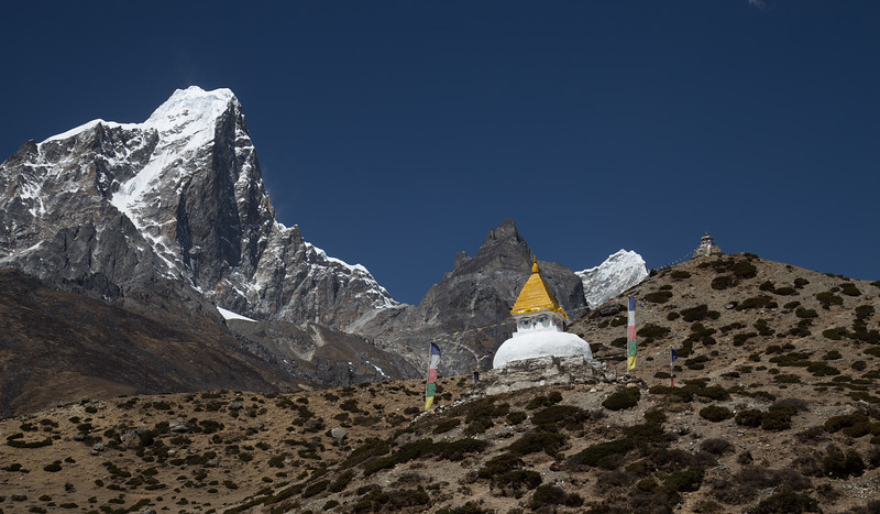 Peaks above Dingboche