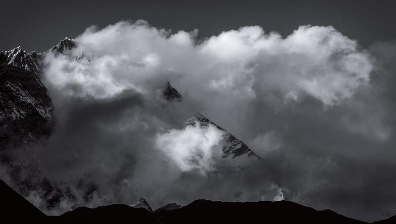 Stormy Lhotse