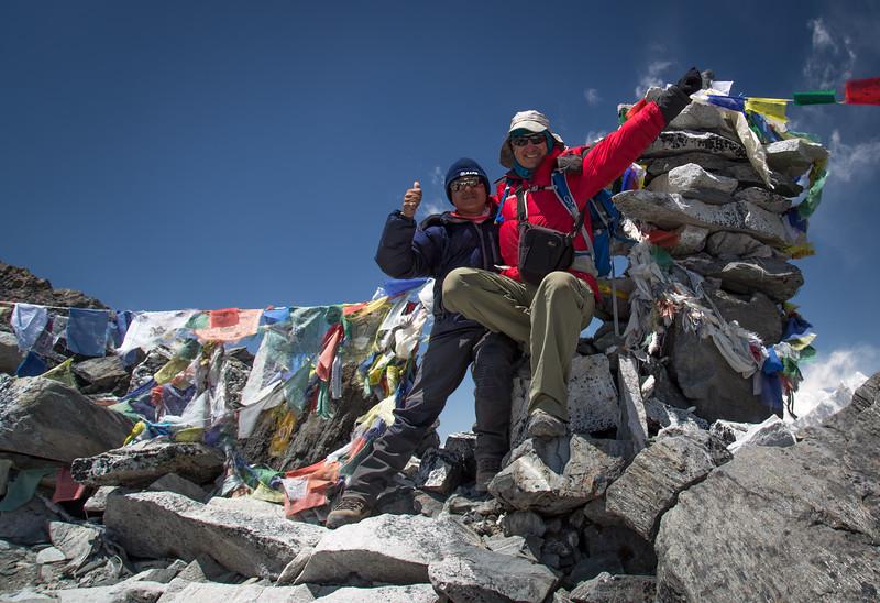 Kongma La Pass (18,155 feet)