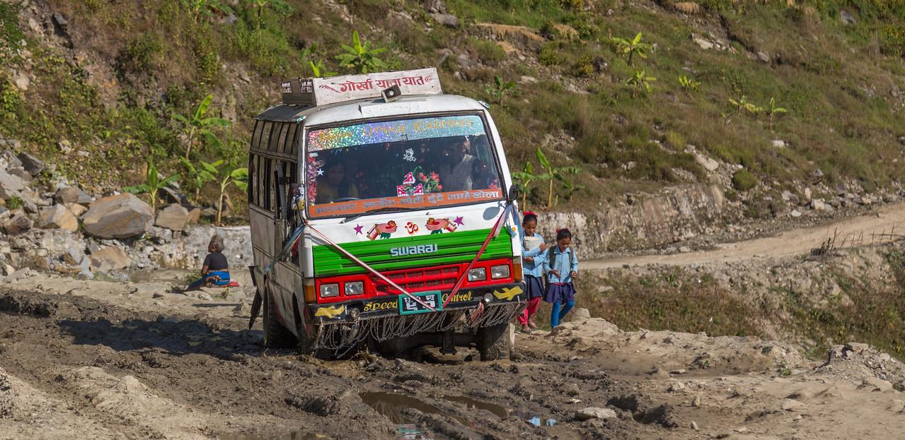 Road to Soti Khola