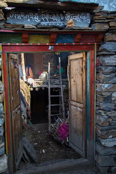 From the  Doorway